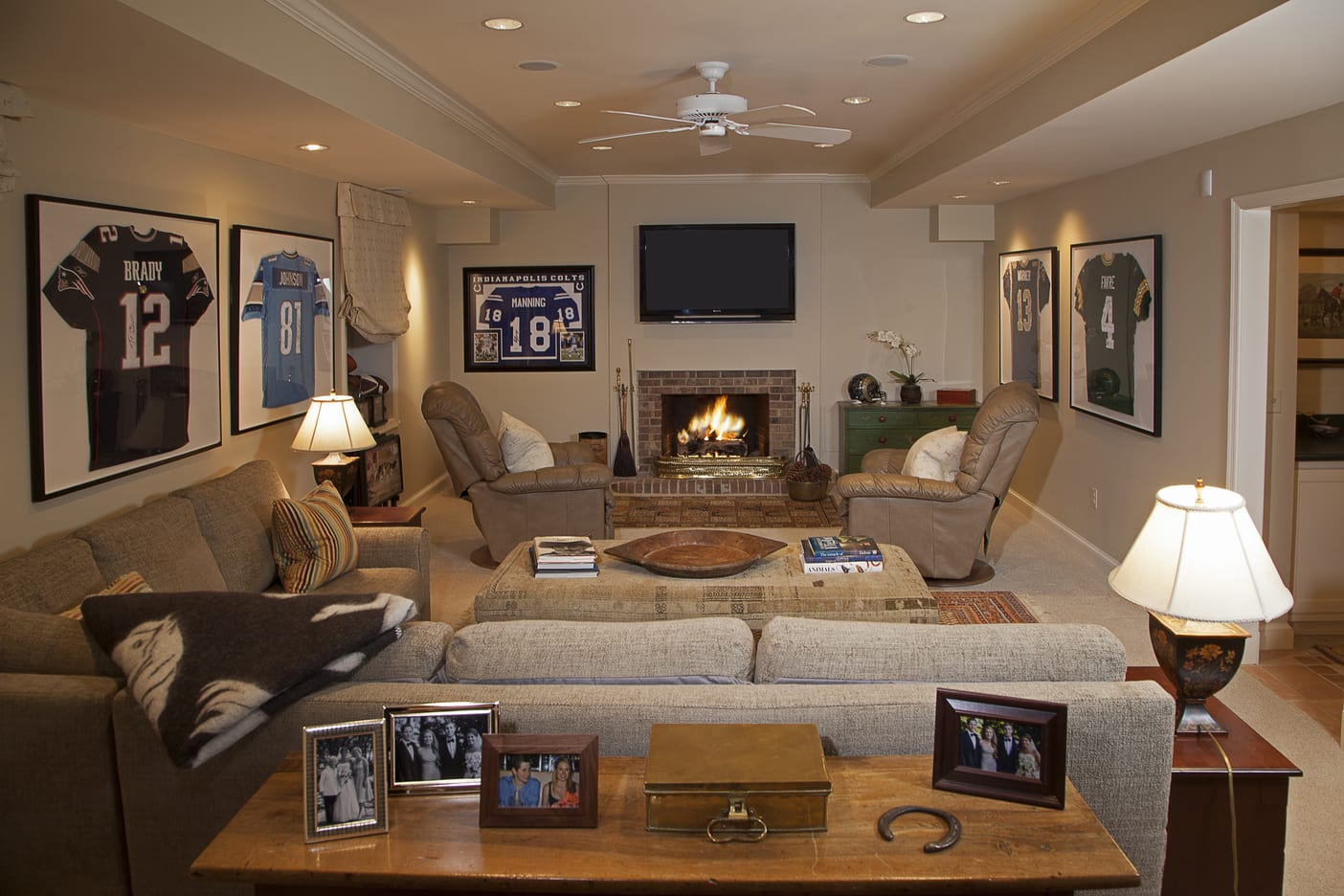 Chevy Chase, MAryland Basement Design Services