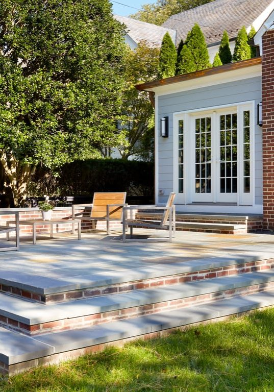 Chevy Chase, Maryland Outdoor Living Space Design